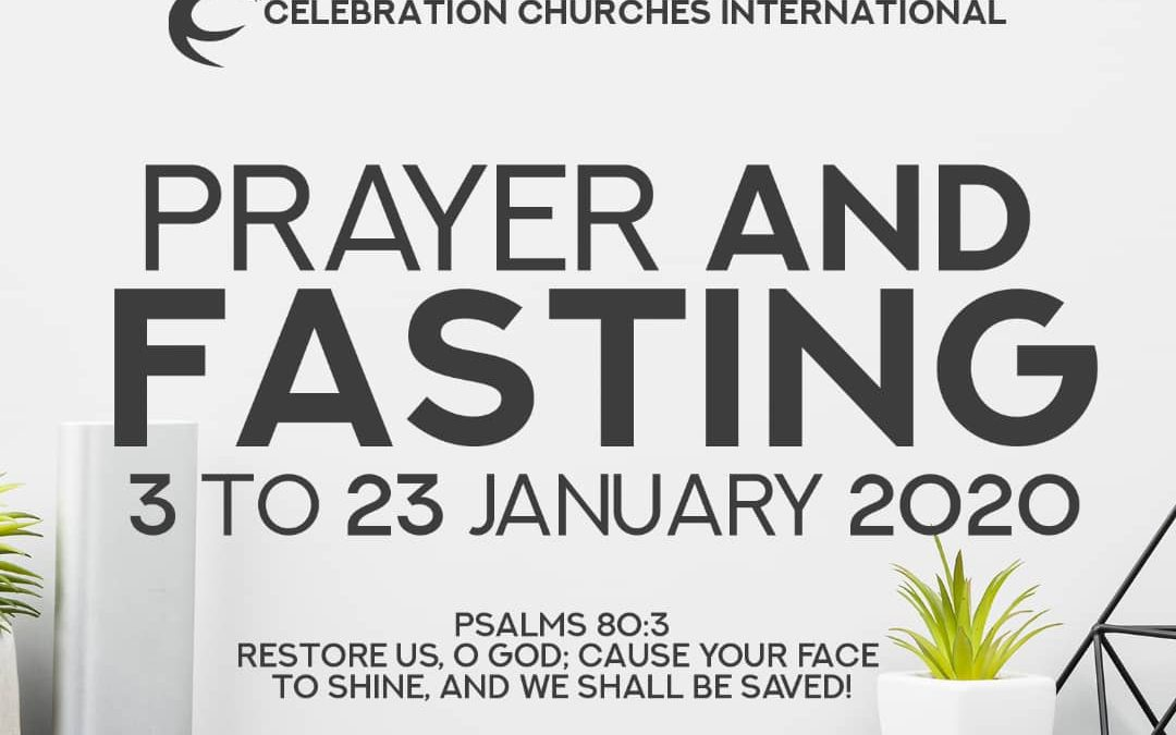 Prayer and fasting 2020